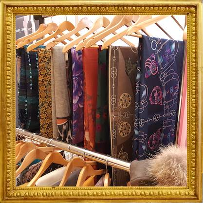 Parijse collectie shawls!